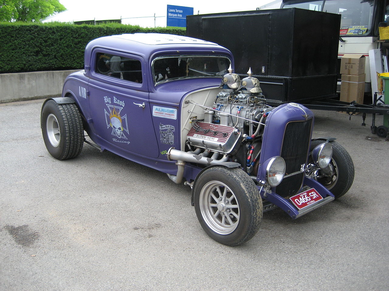 Blown hemi engines blown free engine image for user for 1932 ford 3 window coupe hot rod