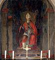 1944 - Taormina - Duomo - Anonimo (1605) - S. Biagio vescovo - Foto Giovanni Dall'Orto, 19-May-2008.jpg