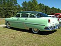 1954 Hudson Hornet Twin H sedan green lr.jpg
