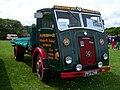 1955 Dennis Pax (PFG 246) flatbed, 2012 HCVS Tyne-Tees Run.jpg