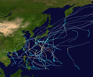 1955 Pacific typhoon season summary map.png