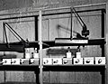 1957. Set-up for rearing Aphidoletes thompsoni, a predator of balsam woolly adelgid (Chermes piceae) were received from Slovakia, Europe, at the Sellwood Lab. Portland, Oregon. (35084680756).jpg