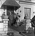 1958 visite d'une délégation INRA au Haras du Pin Cliché Jean Joseph Weber-27.jpg