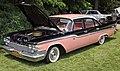 1959 Chrysler Windsor 4-dr sedan, front left pink & black.jpg