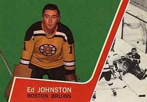 Eddie Johnston - Image: 1963 Topps Ed Johnston
