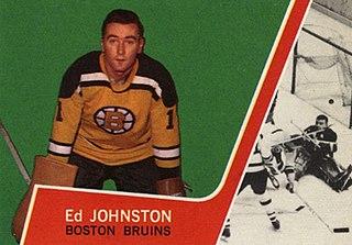 Eddie Johnston Canadian ice hockey goaltender
