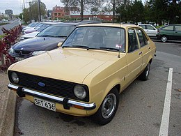 1977 Ford Escort (Mark II) XL 1.3 4-door sedan (5351203253).jpg