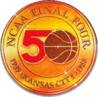 1988 NCAA Division I Men's Basketball Tournament - Image: 1988 NCAA Men's Division I Basketball Tournament (logo)