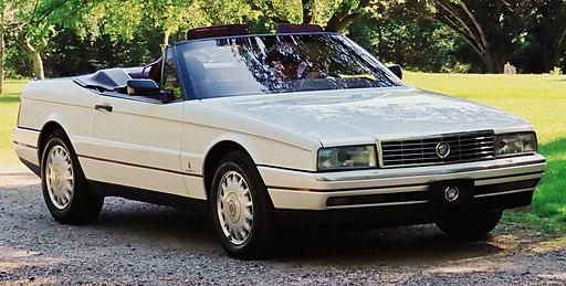 1989 Cadillac Allanté Convertible 4.5L V8 front, Chelsea 5.18.19