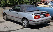 Mercury Capri Xr2 Convertible