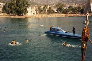 1991 in Albania - Saranda harbour.jpg