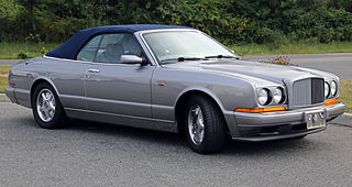 Series of convertible grand tourers manufactured by British automobile manufacturer Bentley Motors from 1995–2009