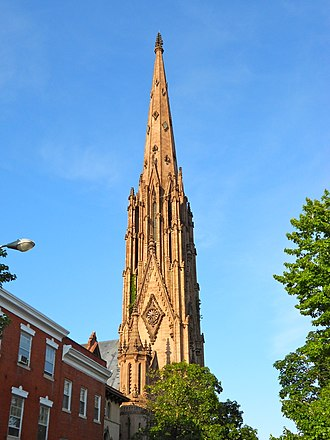 Presbyterian Church (USA) - First Presbyterian Church and Manse (Baltimore, Maryland)