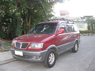 Mitsubishi Freeca - Image: 2003 2004 Mitsubishi Adventure GLS Sport