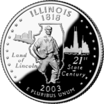 Illinois quarter