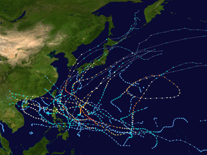 2003 Pacific typhoon season summary map.png