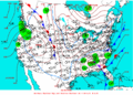 2004-02-15 Surface Weather Map NOAA.png