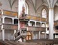 20040605190DR Dippoldiswalde Stadtkirche Kanzel Emporen Südseite.jpg