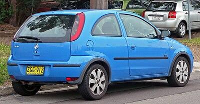 2004 Holden Barina Xc My04 Sxi 3 Door