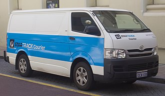Australia Post - StarTrack Courier livered Toyota HiAce