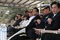 20070314 立法院國防委員會 考察海軍陸戰隊AAV7戰備情形 --- 委員與國防部官員現場觀看AAV7動態操演.jpg