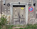 20080428584DR Bellwitz (Löbau) Rittergut Schloß Wappen.jpg