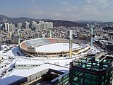 2009-01-24 - Suwon Civil Stadium from Royal Palace.JPG