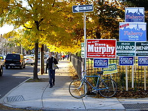 Boston City Council - Election day, Boston, November 3, 2009