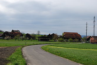 Clavaleyres - Clavaleyres village and surrounding fields