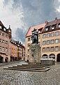 2012 07 13 Нюрнберг памятник Дюреру.jpg