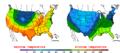 2013-05-02 Color Max-min Temperature Map NOAA.png
