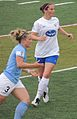 2013-06-09 RedStars v Breakers EllaMasar RhianWilkinson.JPG