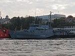 2013-08-29 Севастополь. Тральщик M1061 Rottweil ВМС Германии (1).JPG