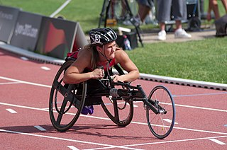 Chelsea McClammer American Paralympic athlete