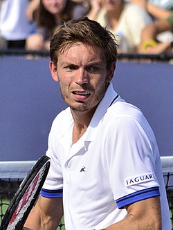 2013 US Open (Tennis) - Nicolas Mahut (9657563933) (cropped).jpg