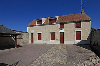 Blandy, Essonne - The town hall of Blandy