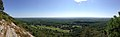 2014-08-25 12 10 15 Panorama east and south from the Appalachian Trail about 9.5 miles northeast of the Delaware Water Gap in Delaware Water Gap National Recreation Area, New Jersey.JPG