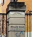 2014 Striver's Row Gate No. 6 W 138 northwest closeup.jpg