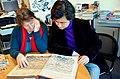 2015-02-06 im Wikipedia-Büro Hannover, Gil-Maria Koebberling und der Pianist Haiou Zhang.jpg