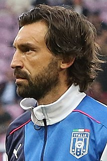 Andrea Pirlo Italian football player and coach