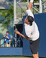 2015 US Open Tennis - Qualies - Jose Hernandez-Fernandez (DOM) def. Jonathan Eysseric (FRA) (20346097963).jpg