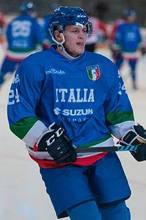 Joachim Ramoser Italian ice hockey player