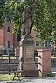2016 Figura św. Jana Nepomucena w Nowej Rudzie (ul. Cmentarna) 4.jpg