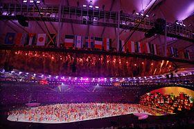 c r monie d 39 ouverture des jeux olympiques d 39 t de 2016 wikip dia. Black Bedroom Furniture Sets. Home Design Ideas