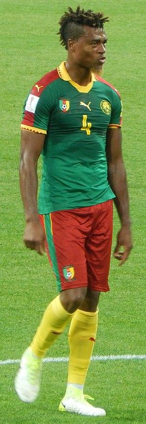 Adolphe Teikeu - Teikeu against Chile in 2017