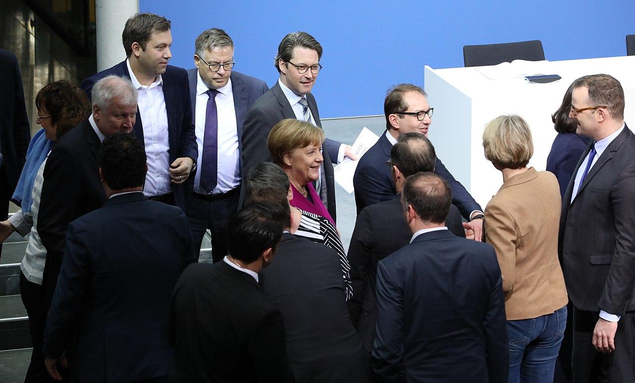 2018-03-12 Unterzeichnung des Koalitionsvertrages der 19. Wahlperiode des Bundestages by Sandro Halank–004.jpg