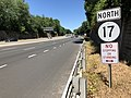 2018-07-19 11 51 39 View north along New Jersey State Route 17 just north of the exit for Bergen County Route 112 (Racetrack Road) in Ho-Ho-Kus, Bergen County, New Jersey.jpg