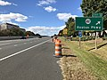 2018-10-24 13 04 58 View west along Virginia State Route 267 (Dulles Toll Road) at Exit 12 (Virginia State Route 602-Reston Parkway) in Reston, Fairfax County, Virginia.jpg