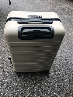 Baggage cases or container for storing travelers items