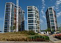 2018 Woolwich Royal Arsenal, Waterfront construction site 02.jpg